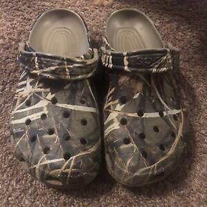 Crocs Unisex Classic Realtree® V2 Clog Men's Size 6 Women's Size 8
