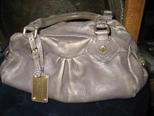 Marc Jacobs Classic Q Baby Groovee Taupe Leather Satchel Bag