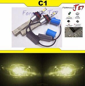 LED Kit C1 60W 9007 HB5 3000K Yellow Head Light QUALITY JDM COLOR LAMP