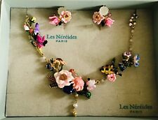 les nereides necklace Monets Garden Large Necklace And Earrings In Box