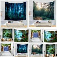 Psychedlic Fairy Scenery Hanging Tapestry Home Throw Wall Hanging Decor Tapestry