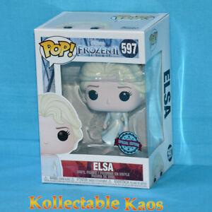 Frozen 2 - Elsa with Ocean Pop! Vinyl Figure (RS) #597