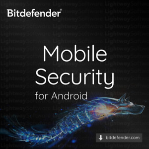Bitdefender Mobile Security 2021 - 1 year for 1 Android device (Code Key)