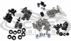Fairing bolts kit, stainless steel, Honda CBR600RR 2003 2004 2005 2006 #BT111#