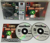 COMMAND & CONQUER RED ALERT PS1 PLAYSTATION 1 Game VGC Fast Free Post