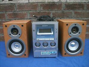 Shelf stereo Sony CMT-M90DVD DVD/CD/Tape Hifi Stereo -100%Working
