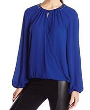 NEW defect $228 BCBG MAX AZRIA KAELYN EMBELLISHED 3067 Top sz XXS