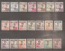 TIMBRE KOUANG TCHEOU BUREAUX FRANCAIS 1923 N°52/72 NEUF* MH CHINE CHINA ¤¤¤