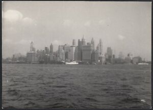 YZ1831 New York City 1950 - Veduta di Manhattan - Fotografia d'epoca