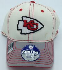 eb34b2ba55770 NFL Kansas City Chiefs Reebok Adult Structured Stretch Cap NEW SEE  DESCRIPTION