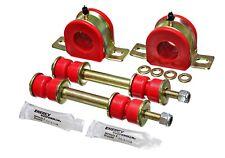 Energy Suspension 3.5178R Sway Bar Bushing Set Red