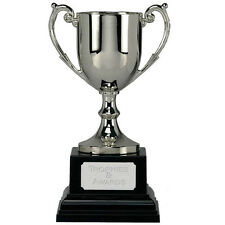 "Cast Metal Cup Trophy 4.5"" to 15"" Gold or Silver Colour FREE ENGRAVING Award"