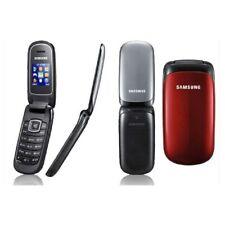 "Original Samsung GT-E1190 Unlocked GSM Flip Mobile Phone MP3 1.43"" Display USB"