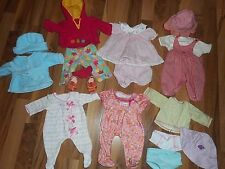 American Girl Doll  BITTY BABY Sleepers Twins Autumn Leaf Outfits Clothes TAGGED