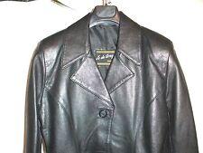 "VESTE CUIR "" JO DE GREY "" Taille 40 BLOUSON jacket/LEATHER"