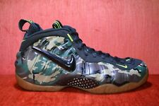 35485bbed15 WORN ONCE Nike Air Foamposite Pro Green Camo 587547-300 Men s Size 11
