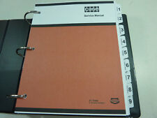 Case 880R Excavator Service Manual Repair Shop Book NEW with Binder