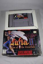 Lufia II Rise of the Sinistrals 2 (Super Nintendo SNES) with Box FAIR