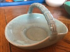 BAUER POTTERY CANDY DISH BASKET