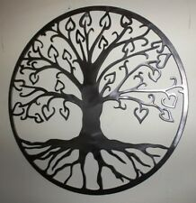 Tree Of Life - Hearts Design, Wall Hanging,Wall Art,Garden Art