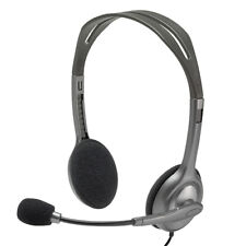 Logitech H110 Stereo Headset with Noise Cancelling Microphone