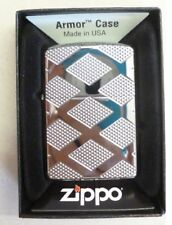 Zippo en TU MECHERO Armor case carveq Chrome Design High polished rar 2005701