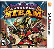 Code Name  STEAM [Nintendo 3DS, S.T.E.A.M., Action Strategy, Steampunk] NEW