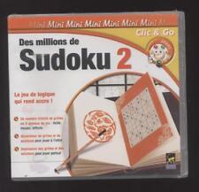 NEUF JEU PC SUDOKU 2 SOUS BLISTER NOMBRE ILLIMITE DE GRILLES EN 3 NIVEAUX