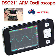 Mini Pocket DS211 ARM DSO Digital Oscilloscope 1 MSa/s 200kHz TFT LCD Display HY