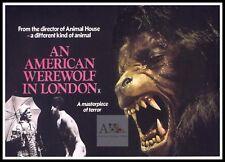 An American Werewolf In London 4   Horror Movie Posters Classic Vintage Cinema
