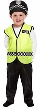 POLICEMAN TODDLER KIDS BOYS POLICE COP BOOK DAY FANCY DRESS COSTUME 2-4