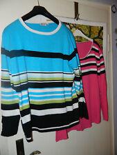 2 süße Pullis/Pullover in XL ca Gr 44-46-48-50  bequeme Wohlfühl-Mode !!!