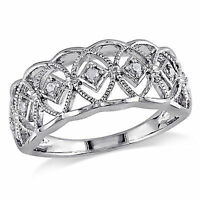 Sterling Silver 1.051 Ct TW Diamond and Emerald Swivel Crossover Heart Love Ring