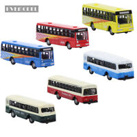 24pcs N scale Diecast Model Bus 1:150 Train Layout BS150