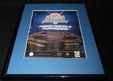 2003 EA Sports Madden Challenge G4 Framed 11x14 ORIGINAL Advertisement