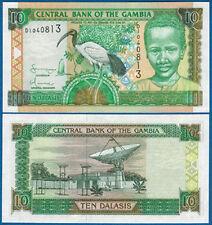 GAMBIA  10 Dalasis  (2001)  UNC  P.21