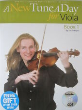 A NEW TUNE A DAY Viola Book 1 Tutor Book with CD pub. Boston