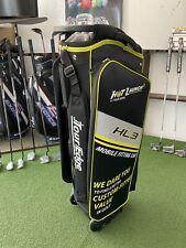 Tour Edge Hot Launch 3 Golf Fitting Cart Demo Bag Wheeled 16-Way Black New