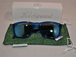 Blue Unisex Knockaround Sunglasses (Blue Monochrome)