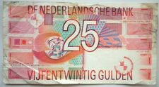 NETHERLANDS 25 Gulden 1989               P-100