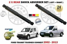 FOR FORD TRANSIT TOURNEO CONNECT 2002-2013 2x REAR SHOCK ABSORBER SHOCKER SET