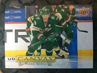 UPPER DECK 2019-2020 SERIES ONE MIKKO KOIVU CANVAS HOCKEY CARD C-57