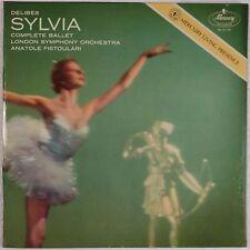 DELIBES: Sylvia Complete Ballet FISTOULARI Mercury NM- RFR-1 ORIG Beauty!
