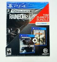 Tom Clancy's Bundle: Playstation 4 [Brand New] PS4