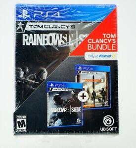 Tom Clancy's Bundle: Playstation 4 [Brand New] PS4