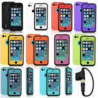 Waterproof Shockproof Dirt Snow Proof Heavy Duty Hard Case Cover For iPhone 5C