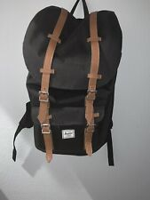 Herschel Bagpack Black  Laptop Equitable