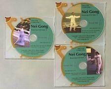 Chi Gong - Nei Gong (Nei Qi Kung) Teaching CDs (3 pcs.) for PC English