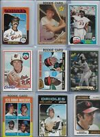 Baltimore Orioles Top 25 Greatest Players of All-Time w/ Rookies Boog Brooks