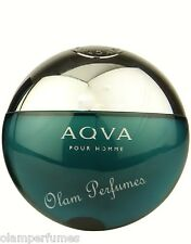 Bvlgari Aqva (Aqua) Pour Homme 3.4oz Eau de Toilette Spray, New, Original